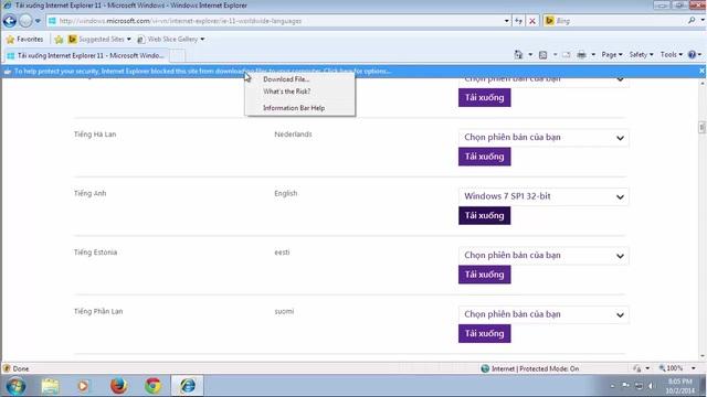 Chọn Download file và đợi web xử lý