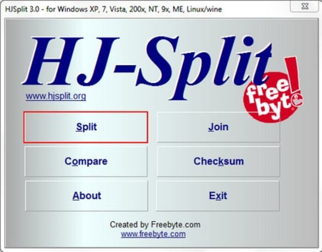 Phần mềm nhỏ bé Hjsplit mang đến cho người dùng những trải nghiệm tuyệt