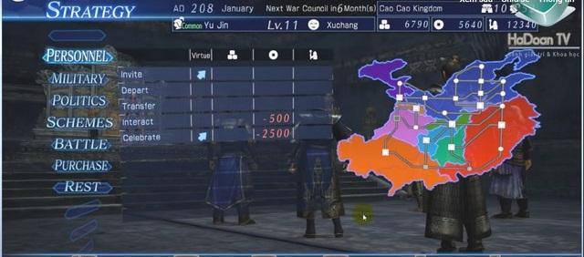 Tuyệt chiêu khắc phục lỗi chơi Dynasty warriors 8 bị màn hình đen