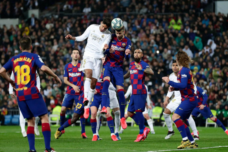 Giải đấu bóng đá Tây Ban Nha rất kịch tính