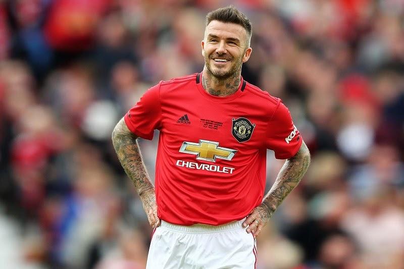 David Beckham từng khoác áo thi đấu của rất nhiều đội bóng