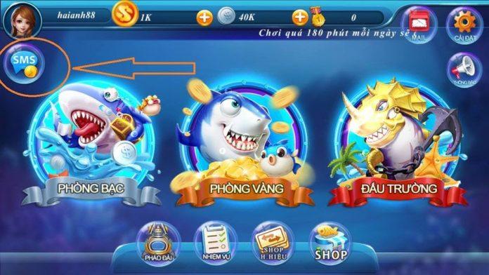 Game bắn cá nạp qua SMS Viettel mang lại nhiều lợi ích cho người chơi